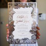 Invitaciones de boda modernas