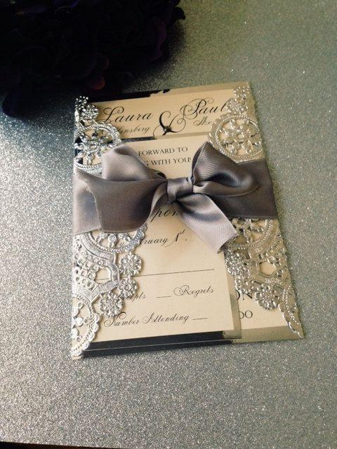 Invitaciones para boda modernas 4