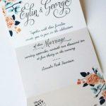 Invitaciones para boda modernas 7