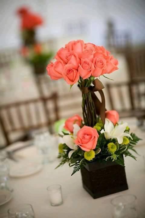 centros de mesa de boda para este 2018, con predicciones para el 2019
