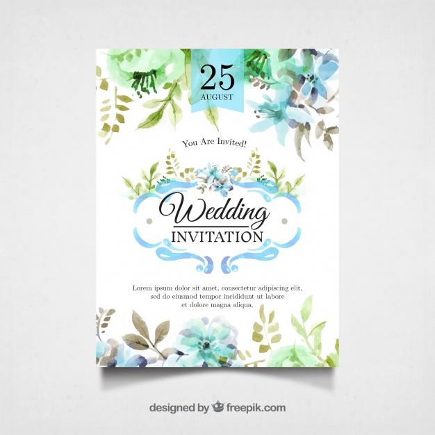 invitaciones de boda elegantes para imprimir gratis (12)
