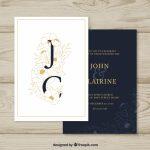 invitaciones de boda elegantes para imprimir gratis (16)