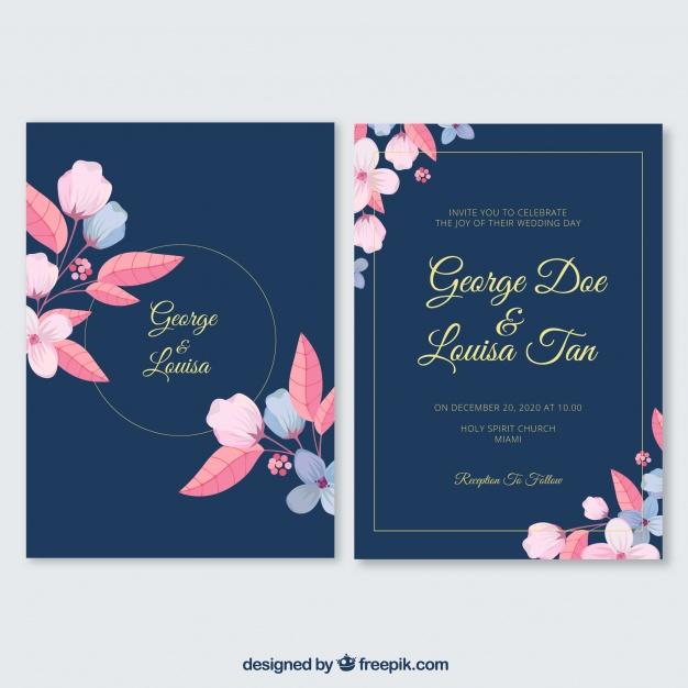 invitaciones de boda elegantes para imprimir gratis (19)