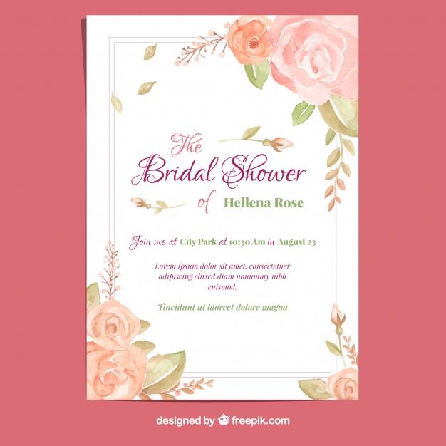 invitaciones de boda elegantes para imprimir gratis 27