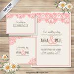 invitaciones de boda elegantes para imprimir gratis (28)