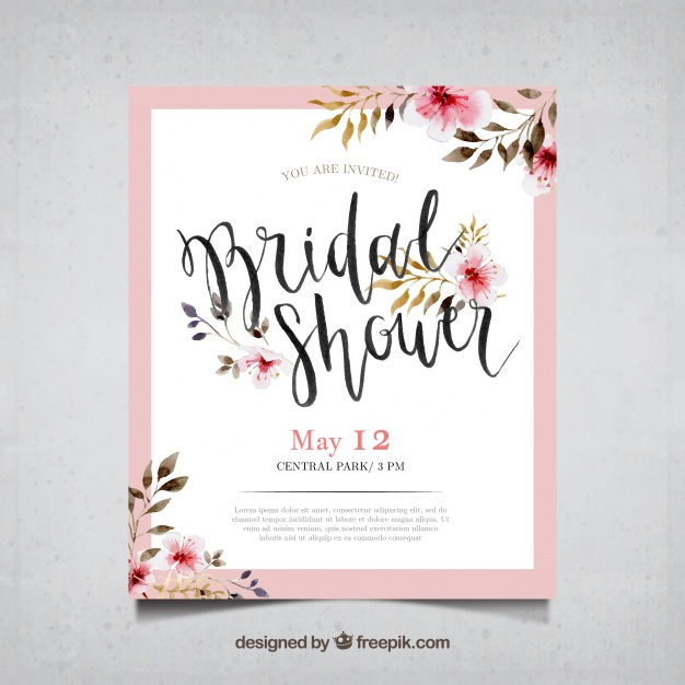 invitaciones de boda elegantes para imprimir gratis 4