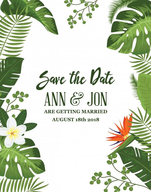 invitaciones de boda elegantes para imprimir gratis (6)