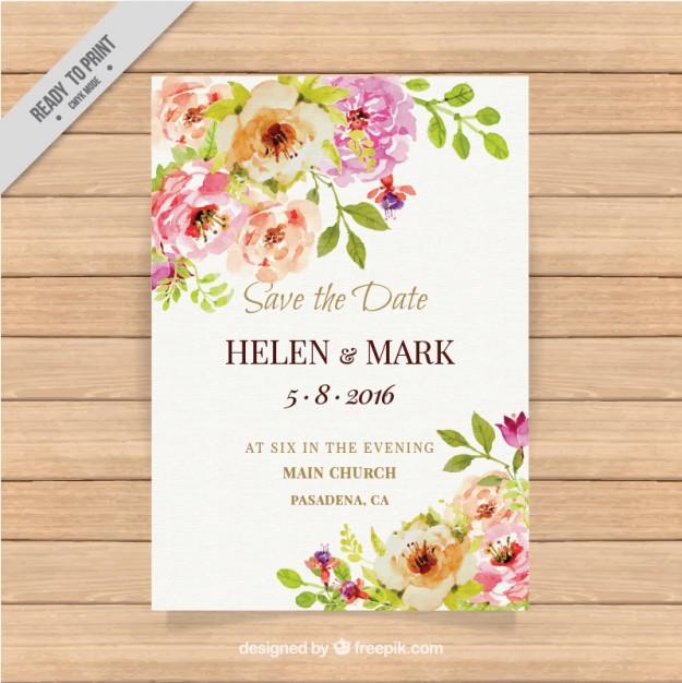 invitaciones de boda elegantes para imprimir gratis (7)
