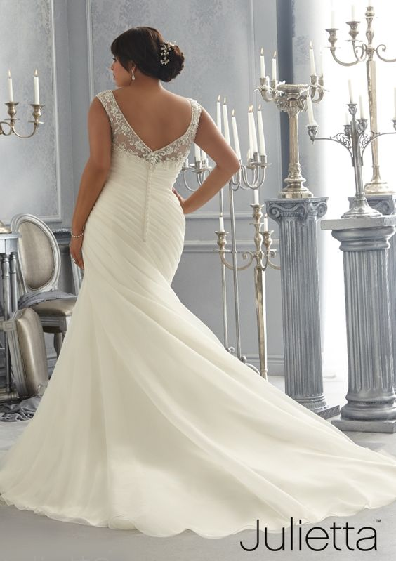 Vestidos de novia para mujeres bajitas 2019