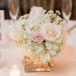 Arreglos de mesa para bodas sencillos