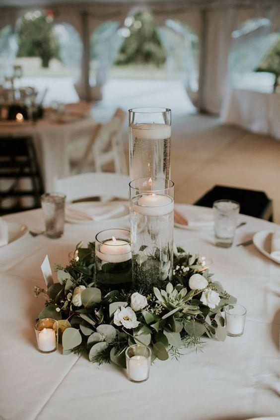 arreglos de mesa para bodas sencillos (2)