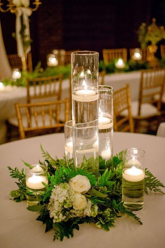 centros de mesa para boda sencillos tendencias en bodas 2018. Black Bedroom Furniture Sets. Home Design Ideas