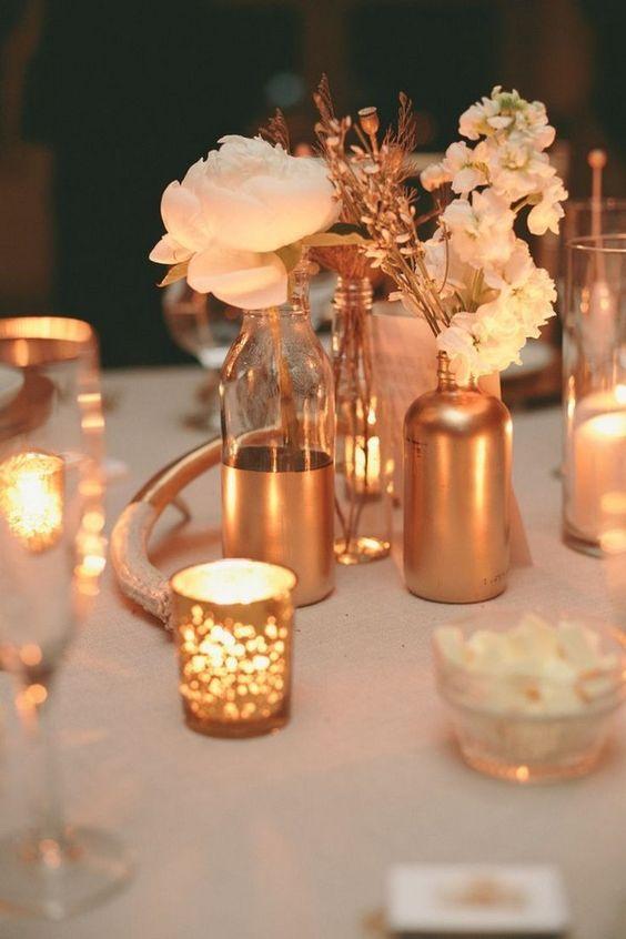 arreglos florales para bodas de oro 4