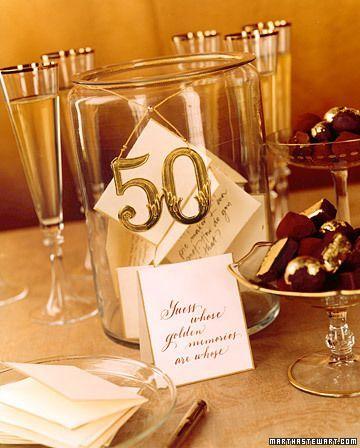 bodas de oro decoracion 3