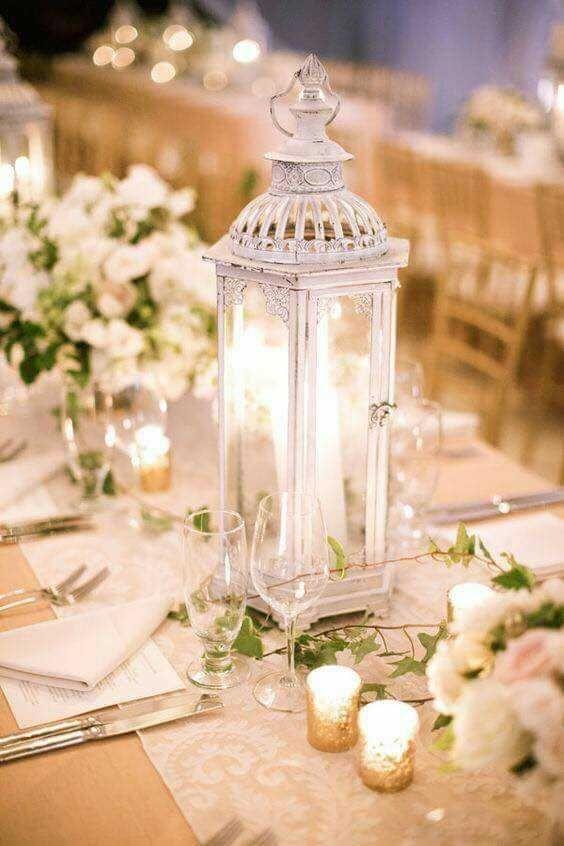 centros de mesa para boda sencillos faroles (2)