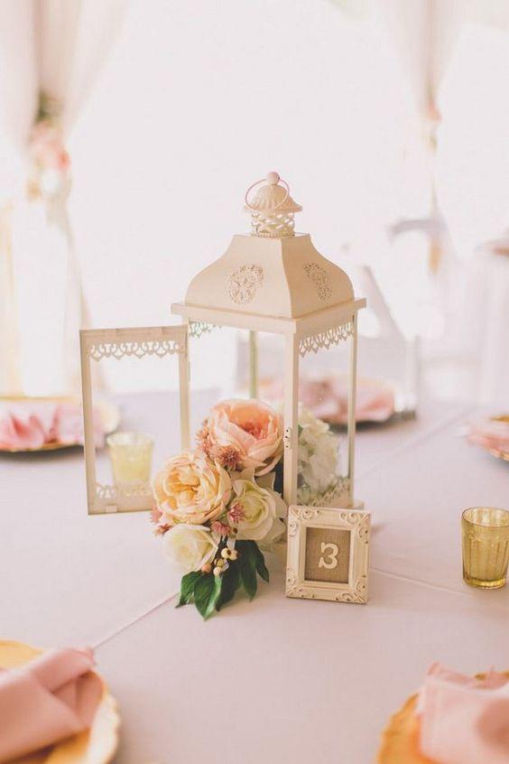 centros de mesa para boda sencillos faroles (3)