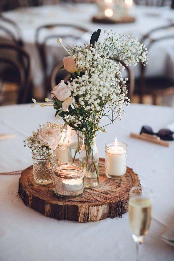 centros de mesa para boda sencillos rusticos (1)