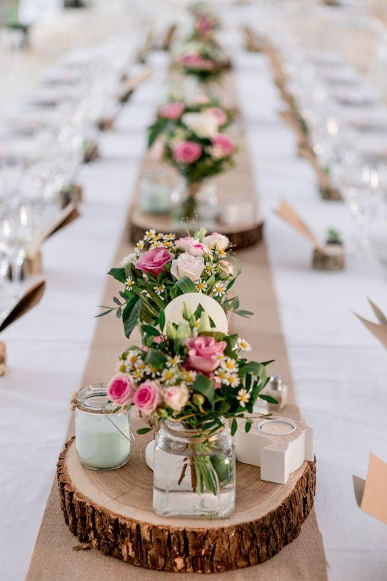 centros de mesa para boda sencillos rusticos (2)