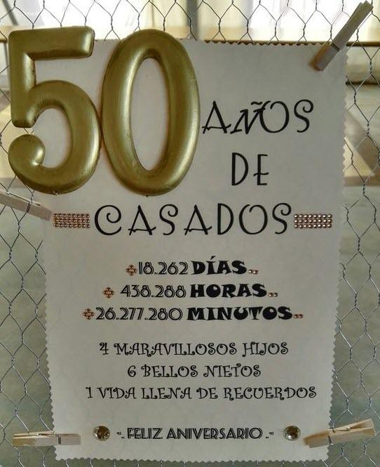 Ideas de bodas de oro my cms for Decoracion 40 aniversario de bodas