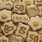 mesas de dulces para bodas de oro 2