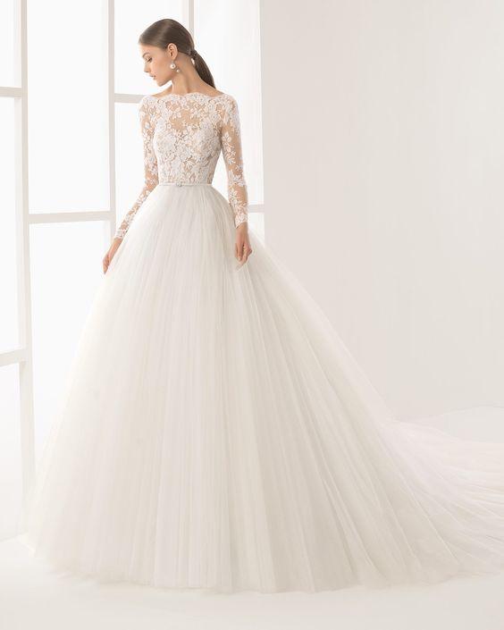 Tendencias vestidos de novia ampones 2019