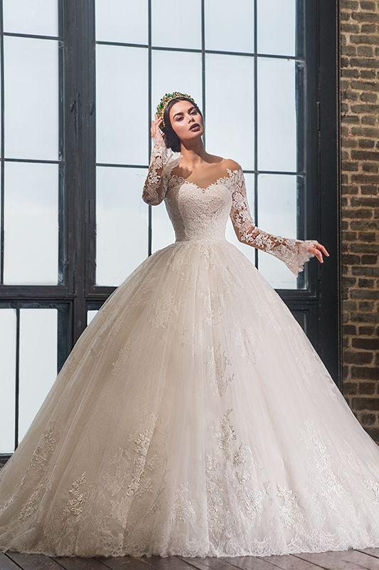 Vestidos de novia super ampones