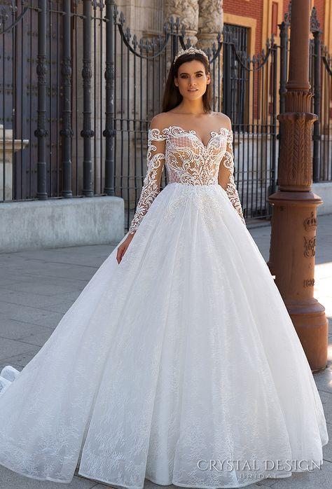tendencias vestidos de novia ampones 2019 (7)