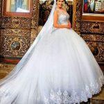 Vestidos de novia ampones 2018