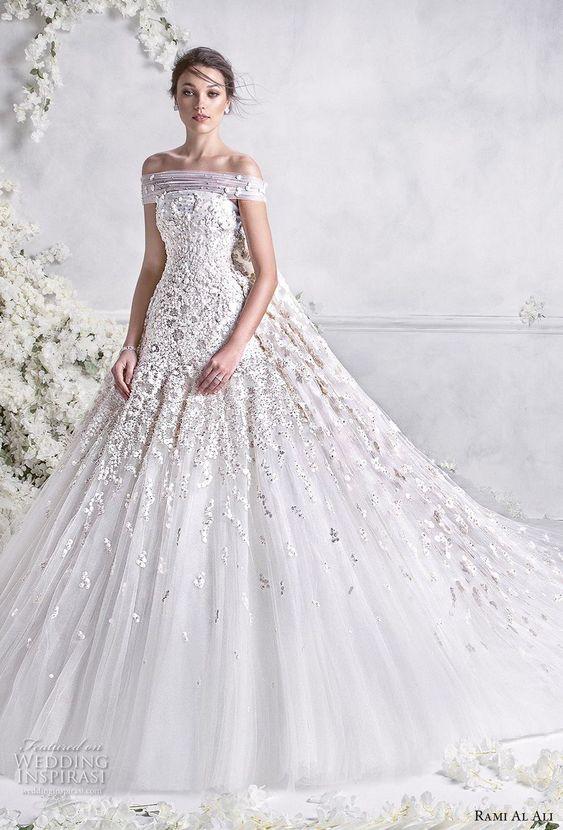 vestidos de novia ampones con encaje (1)