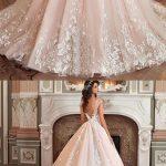 Vestidos de novia ampones con encaje
