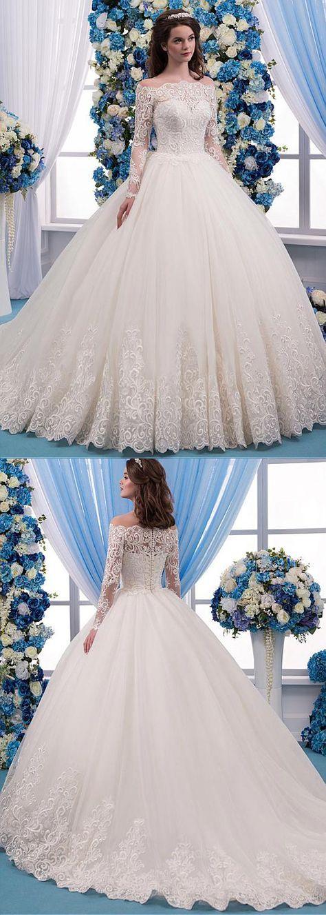 vestidos de novia ampones con encaje (6)