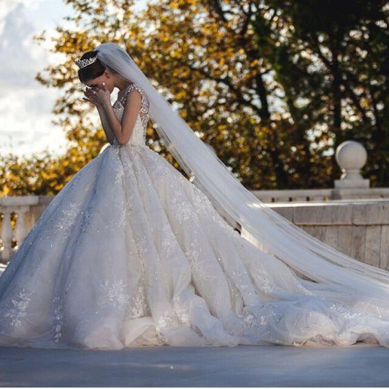 vestidos de novia ampones con encaje (8)