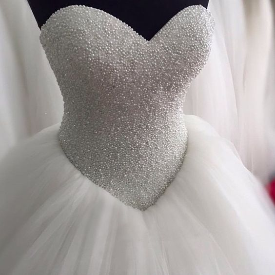vestidos de novia ampones con pedreria (3)