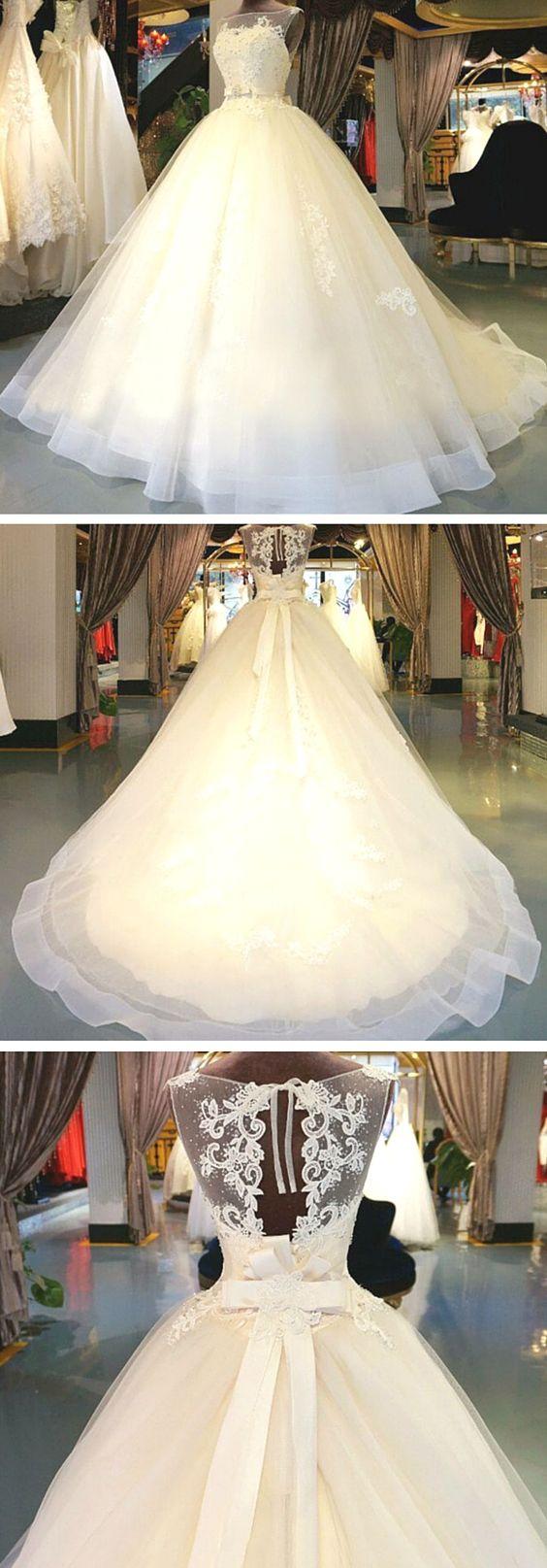 vestidos de novia ampones de tul (4)