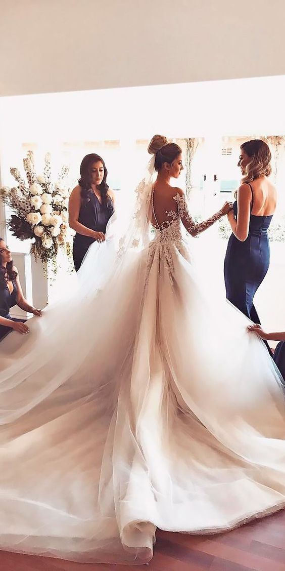 vestidos de novia corte princesa (1)
