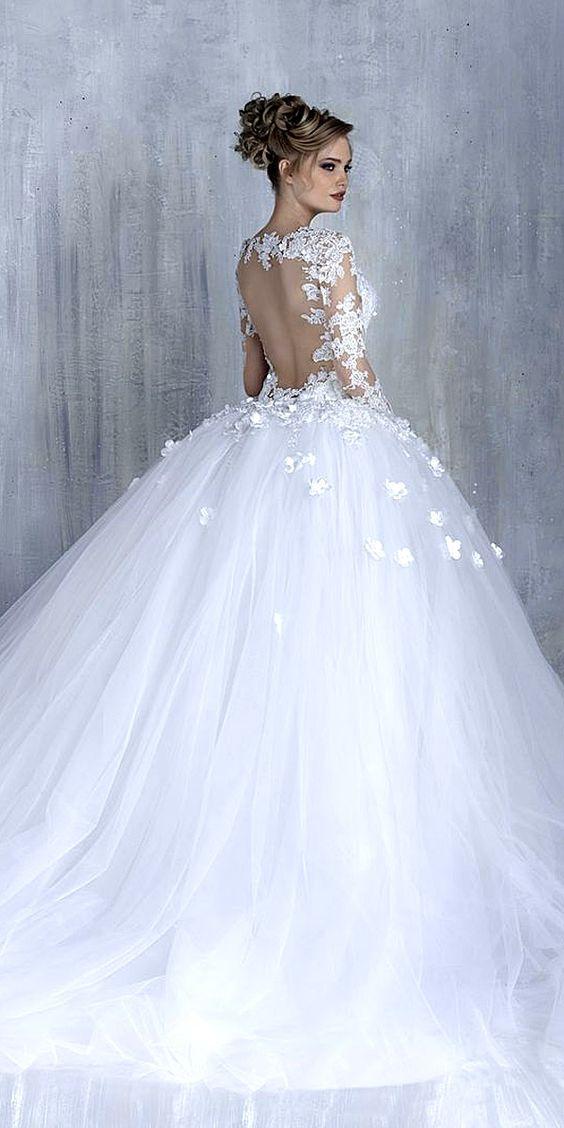 vestidos de novia corte princesa (2)