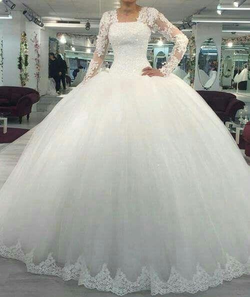 Vestidos de novia corte princesa 2018