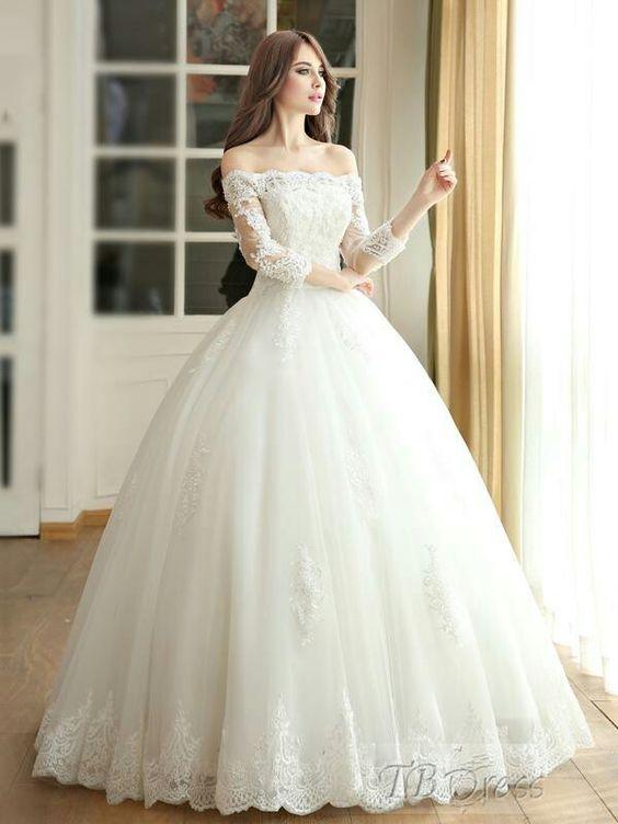 vestidos de novia ampones | tendencias en vestidos de novia 2018