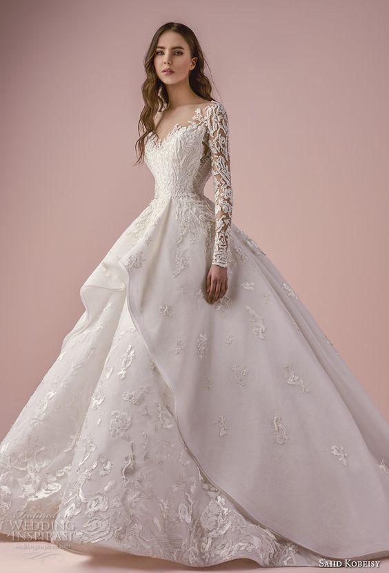 Vestidos de novia corte imperial para gorditas