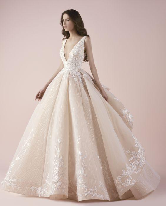 vestidos de novia corte princesa (6)