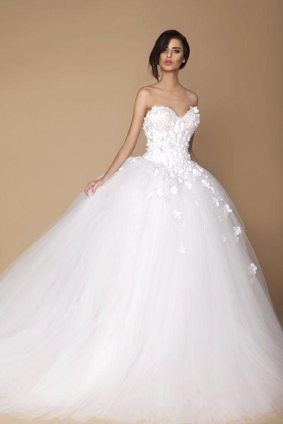 vestidos de novia estilo princesa (2)