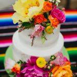 Pasteles para una boda mexicana