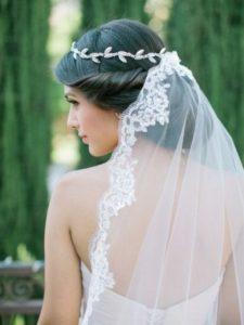 Tocados para velos de novia