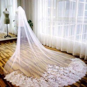 Velos de novia largos