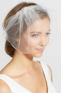 Velos de novia que cubren el rostro