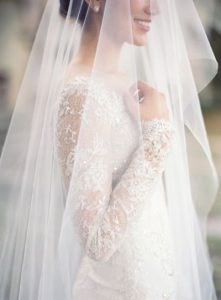 Velos de novia sencillos
