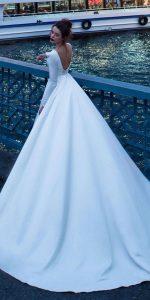 vestidos de novias para bodas en invierno 2018
