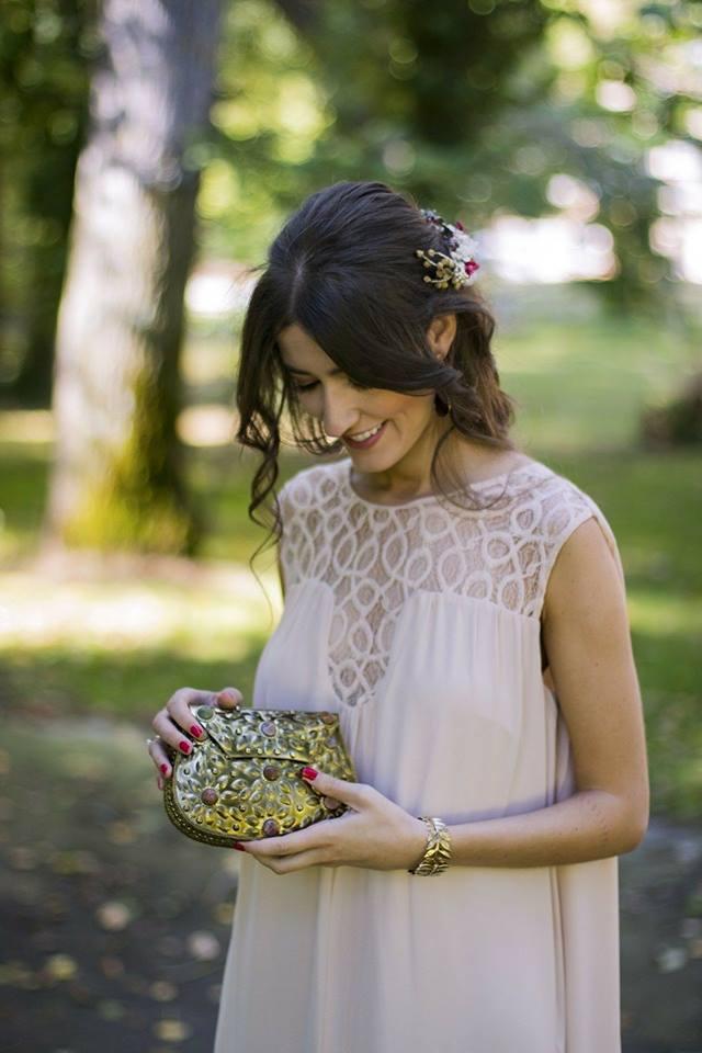 ideas para una novia rosa gold