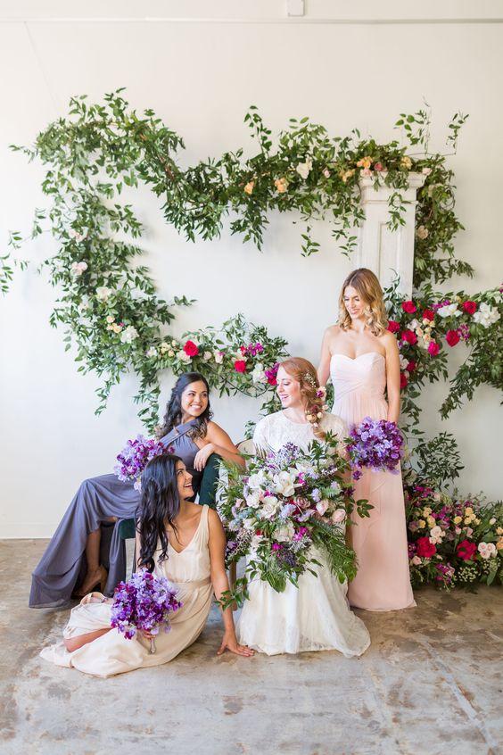 paleta de colores para bodas 2019 3