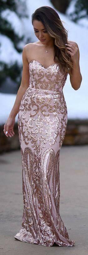 vestidos para madrinas rosa gold